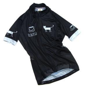 セブンイタリア Cafe Cat レディース Jersey ブラック 【自転車】【ウェア】|worldcycle-wh