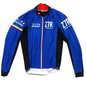 セブンイタリア Z7R eVent Softshell Jacket ブルー|worldcycle-wh