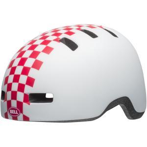 ベル リルリッパー マットホワイト/ピンクチェッカーズ ヘルメット|worldcycle-wh