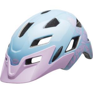 ベル サイドトラック マットグロスライラックフラッター ヘルメット|worldcycle-wh