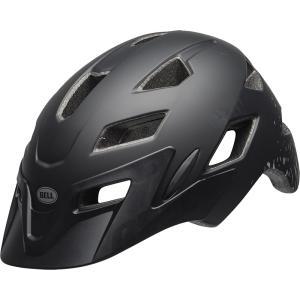 ベル サイドトラック マットブラック/シルバーフラグメント ヘルメット|worldcycle-wh