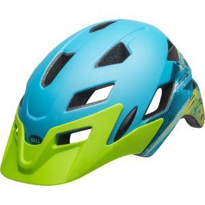 ベル サイドトラック マットグリーン/ブルーナーリー ヘルメット|worldcycle-wh