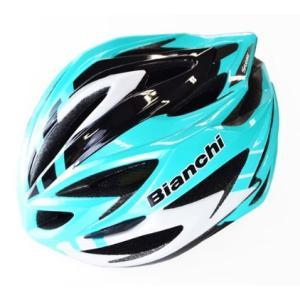ビアンキ STEAIR(ステアー) チェレステ/ホワイト ヘルメット worldcycle-wh