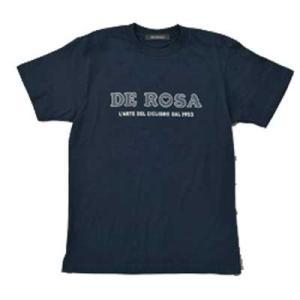 デローザ キッズ クラシック ロゴ Tシャツ ネイビー|worldcycle-wh