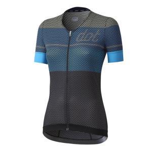 ドットアウト レディース Glory W Jersey 70S.シェードオブブルー|worldcycle-wh