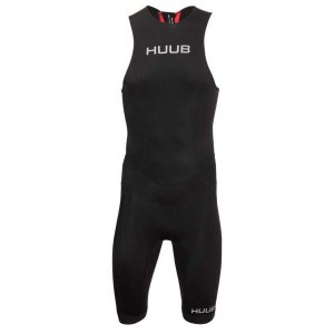 フーブ Essential Triathlon Suit Rear Zip ブラック/レッド|worldcycle-wh