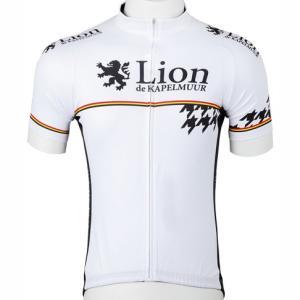 リオン・ド・カペルミュール 半袖ジャージ 千鳥チップホワイト worldcycle-wh