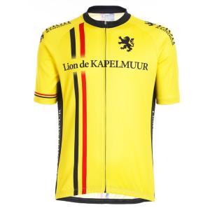 リオン・ド・カペルミュール 半袖ジャージ ベルギーライン イエロー worldcycle-wh