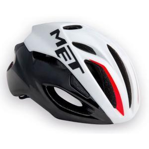 メット リヴァーレ HES ホワイト×ブラック×レッド ヘルメット worldcycle-wh