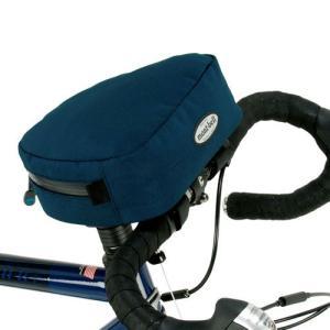 ●ハンドルステムにベルクロで簡単に取り付けられるバッグ ●開閉口が手前にあるので、物の出し入れが簡単...
