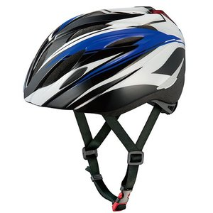 OGKカブト BRIGHT-J1(ブライト・ジェイワン)ヘルメット LEDリアライト付 バトルブルー|worldcycle-wh