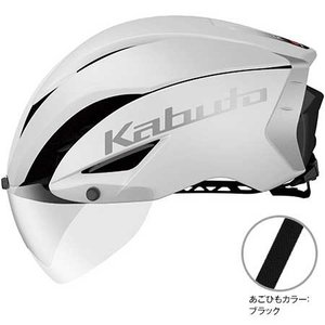 OGKカブト エアロ-R1(AERO-R1) マットホワイト ヘルメット worldcycle-wh
