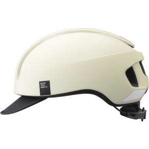 OGKカブト キャンバス・アーバン(CANVAS-URBAN) マットオフホワイト ヘルメット|worldcycle-wh