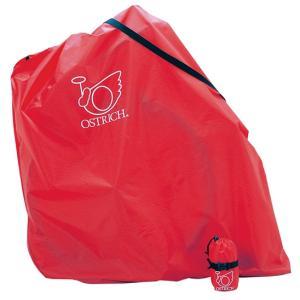 【輪行マニュアルプレゼント】オーストリッチ  L-100 レッド 輪行袋 軽量型 ワンタッチバックル|worldcycle-wh