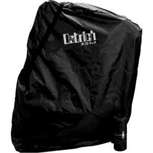 【輪行マニュアルプレゼント】オーストリッチ 輪行袋 ロード220 エンド金具付属 ブラック×1968ロゴ|worldcycle-wh