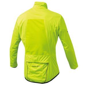 パールイズミ 【2300】ストレッチ ウィンドシェル 8.ネオンイエロー|worldcycle-wh|02