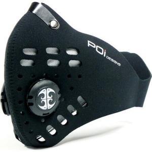 POiデザイン ツアーマスク ブラック|worldcycle-wh