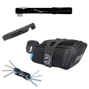 シマノプロ コンビパック サドルバッグ+携帯ポンプ+携帯工具+タイヤレバーセット|worldcycle-wh