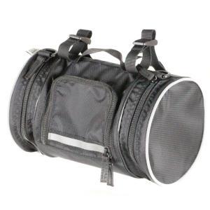 R250 ドラム型フロントバッグ ブラック【自転車】【バッグ】【フロントバッグ】|worldcycle-wh