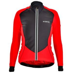 【SALE】レリック レディース コルヴィス ライト ベントブロック ジャケット レッド(8〜16℃)【自転車】|worldcycle-wh