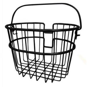 ・小径車にもぴったりのミニバスケット♪ ・高い人気のニューワイヤーバスケットのミニサイズ。  ・シン...