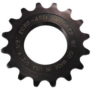 ユーロアジア DLX ピスト用固定ギア 【自転車】【トラック・ピストパーツ】【小ギア(シングルギア)】|worldcycle