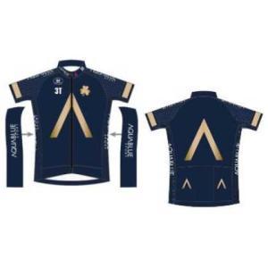 【代引不可】フェルマルク AQUA BLUE SPORT SHORT SLEEVE JERSEY Racing Fit 180124|worldcycle
