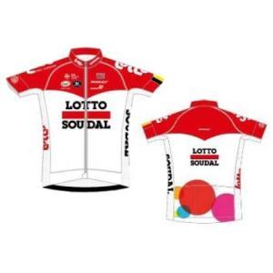 【代引不可】フェルマルク LOTTO SOUDAL SHORT SLEEVE JERSEY Racing Fit 180124|worldcycle