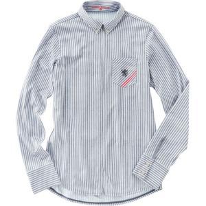 シャツカットを採用した、シックなデザインの長袖サイクルジャージです。 通常のサイクルジャージに比べ、...