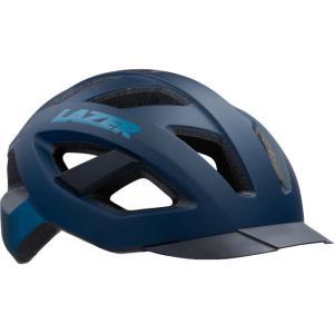 シマノレイザー カメレオン マットダークブルー ヘルメット LAZER レーザー 20210721の画像