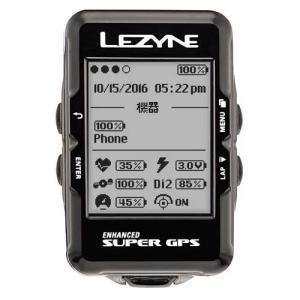 LEZYNE GPSテクノロジーのすべてを搭載した大画面GPS内蔵サイクルコンピューター COLOR...