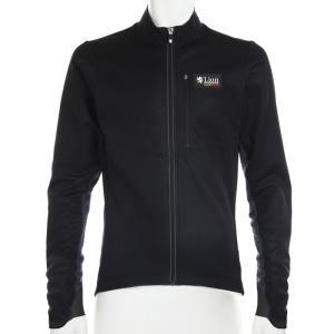 リオン・ド・カペルミュール ウインドプルーフジャケット ブラック×グレー|worldcycle