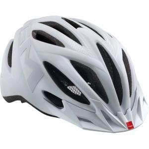 メット 20マイル マットテクスチャーホワイト ヘルメット worldcycle