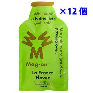 マグオン ジェル ラ・フランスフレーバー 41g×12個入り カフェイン含有|worldcycle
