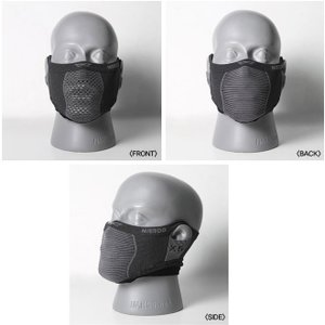 Naroo X5s スリムフィット ブラック フェイスマスク 日焼け予防 UVカット PM2.5 花粉症対策マスク|worldcycle|02