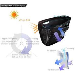 Naroo X5s スリムフィット ブラック フェイスマスク 日焼け予防 UVカット PM2.5 花粉症対策マスク|worldcycle|04