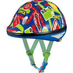 POPでファンシーな最小サイズ、アジャスター付き幼児用ヘルメット。 規格:SG規格  サイズ:47~...