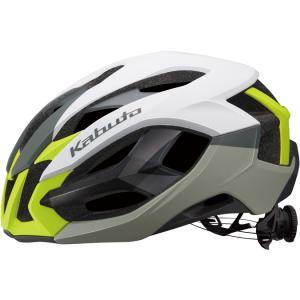 OGKカブト イザナギ(IZANAGI) マットホワイトイエロー ヘルメット|worldcycle