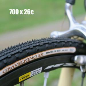 パナレーサー グラベルキングSK セミノブパターン 700×26C(622) フォルダブル|worldcycle