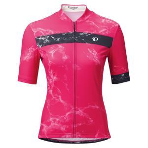 パールイズミ 【W621-B】UV プリント ジャージ 3.ルビー レディース PEARLIZUMI|worldcycle