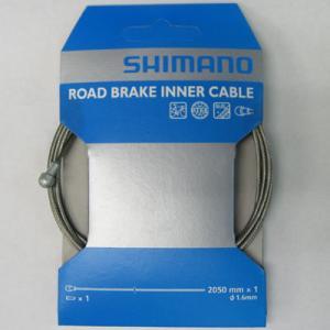 【特急】シマノ ロードPTFEブレーキインナーケーブル 1.6×2050mm 1本 【自転車】【ロードレーサーパーツ】【ワイヤー類】