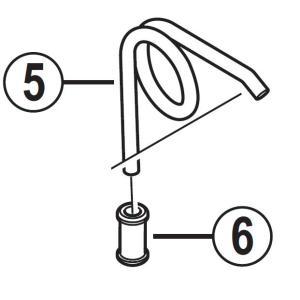 [6]バネ受け 【自転車】【ロードレーサー用】【SORA】【BR3500用スモールパーツ】