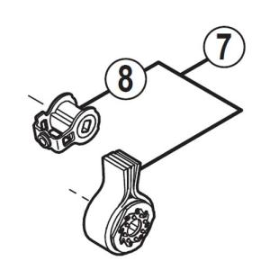 [7]スタビライザーユニット 【自転車】【マウンテンバイク用】【ZEE】【RDM640用スモールパー...