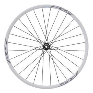 シマノ WH-RS170 フロントのみ ホワイト 12mmEスルー センターロックローター対応|worldcycle