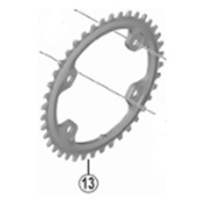 [13]チェーンリング 40T|worldcycle