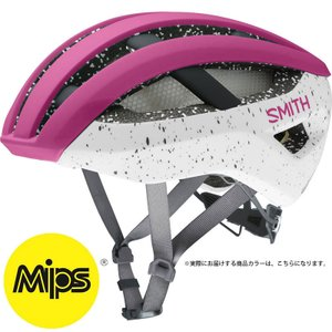 【SALE】スミス NETWORK - Mips Matte Berry/Vapor ヘルメット SMITH|worldcycle