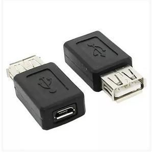 変換の達人 スマートフォン 変換アダプタ A:USB メス B:microUSB メス タブレット USB機器 USBハブ 1個 ポイント消化|worlddepartyafuu