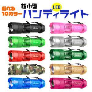 ハンディライト LED 防災 災害対策 超小型 懐中電灯 1個 ポイント消化