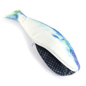 オルルド釣具 魚型 小物入れ ポーチ ペンケース おもしろグッズ ハマチ|worlddepartyafuu