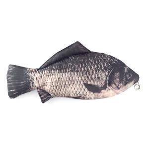 オルルド釣具 魚型 小物入れ ポーチ ペンケース おもしろグッズ フナ 鮒|worlddepartyafuu
